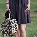 черная юбка летом ?