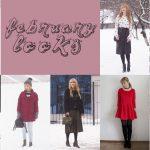 february looks